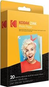 "Kodak ZINK Fotopapier 2x3"", 20 Blatt (RODZ2X320)"