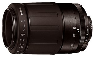 Tamron AF 80-210mm 4.5-5.6 für Pentax K schwarz (278DP)