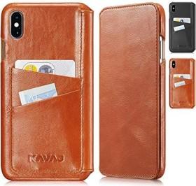 KAVAJ Dallas für Apple iPhone XS Max cognac-braun (G00351)