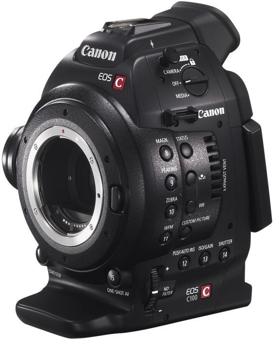 Canon EOS C100 EF (digital)