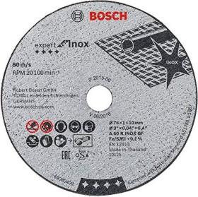 Bosch A60RBF stainless steel Expert cut-off wheel 76x1mm, 1-pack (2608601520)