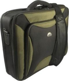 "Natec Pitbull 17"" carrying case black/green (LC-PIT-BGR-170)"