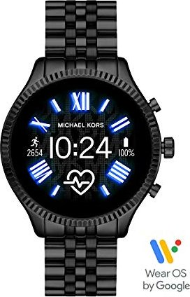 Michael Kors Access Lexington 2 mit Gliederarmband schwarz (MKT5096) -- via Amazon Partnerprogramm
