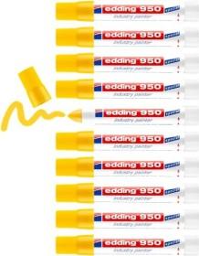 edding 950 Pastenmarker gelb, 10er-Pack (4-950005#10)