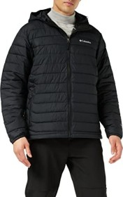 Columbia Powder Lite Hooded Jacke schwarz (Herren) (1693931-010)