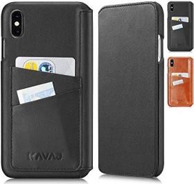 KAVAJ Dallas für Apple iPhone XS Max schwarz (G00350)