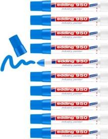 edding 950 Pastenmarker blau, 10er-Pack (4-950003#10)