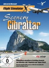 Flight Simulator X - Scenery Gibraltar (Add-on) (PC)