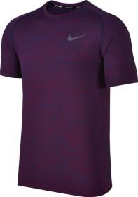 Nike Dri-FIT Knit Laufshirt kurzarm binary blue/true berry (Herren) (833562-429)