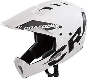 Cratoni Shakedown Fullface-Helm white matt
