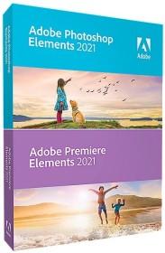 Adobe Photoshop Elements 2021 and Premiere Elements 2021, EDU (English) (PC/MAC) (65313128)