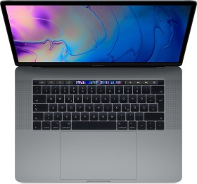"Apple MacBook Pro 15.4"" Space Gray, Core i7-8850H, 16GB RAM, 512GB SSD, Radeon Pro 560X, UK/US [2018 / Z0V1] (MR942B/A)"