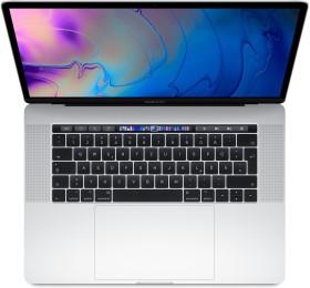 """Apple MacBook Pro 15.4"""" silber, Core i7-8850H, 16GB RAM, 512GB SSD, Radeon Pro 560X, UK/US [2018 / Z0V3] (MR972B/A)"""