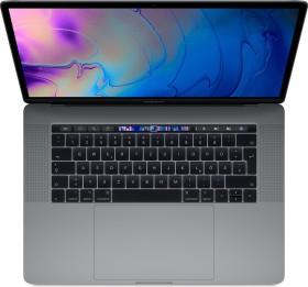 "Apple MacBook Pro 15.4"" Space Gray, Core i7-8750H, 16GB RAM, 256GB SSD, Radeon Pro 555X, UK/US [2018 / Z0V0] (MR932B/A)"