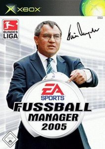 EA Sports Fußball Manager 2005 (deutsch) (Xbox)