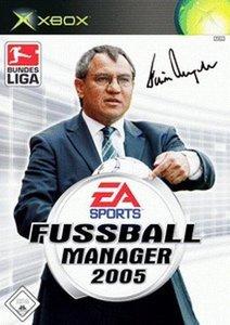 EA Sports Fußball Manager 2005 (niemiecki) (Xbox)