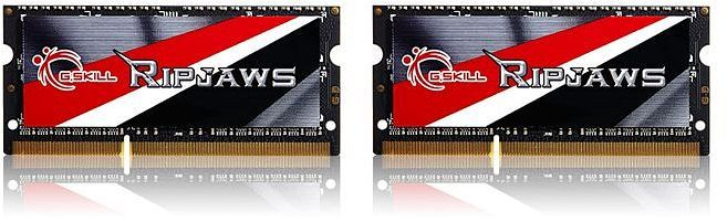 G.Skill RipJaws SO-DIMM Kit 8GB, DDR3L-1600, CL9-9-9-28 (F3-1600C9D-8GRSL)