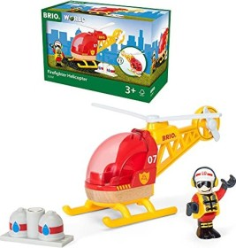 BRIO Firefighter-helicopter (33797)