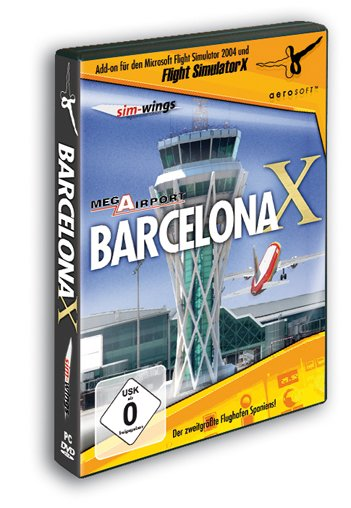 Flight Simulator X - Mega Airport Barcelona (Add-on) (deutsch) (PC)