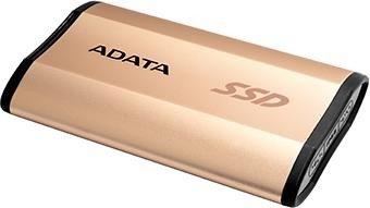 ADATA SE730 gold 250GB, USB-C 3.1 (ASE730-250GU31-CGD)