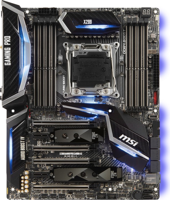 MSI X299 Gaming Pro carbon AC (7A95-001R)