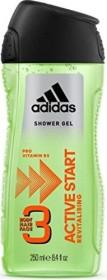 adidas Active Start Hair & Shower Gel, 250ml
