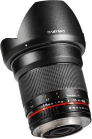 Samyang AE 16mm 2.0 ED AS UMC CS für Nikon F schwarz