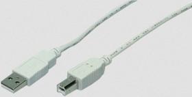 LogiLink USB-A 2.0 [Stecker] auf USB-B 2.0 [Stecker], 1.8m (CU0007)