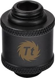 "Thermaltake Pacific extender 20mm G1/4"" male on G1/4"" male, black (CL-W043-CU00BL-A)"