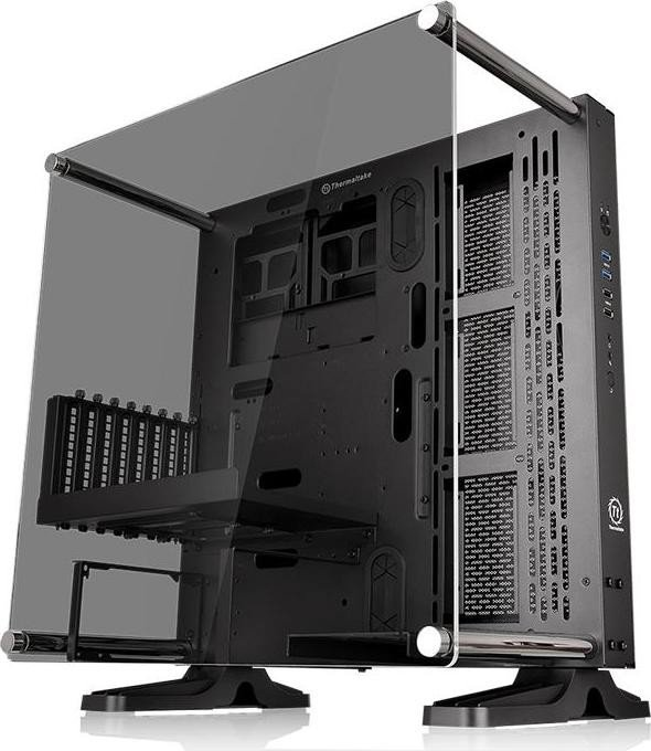 Thermaltake Core P3 Tempered Glass Edition schwarz, Glasfenster (CA-1G4-00M1WN-06)