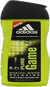 adidas Pure Game Shower Gel, 250ml