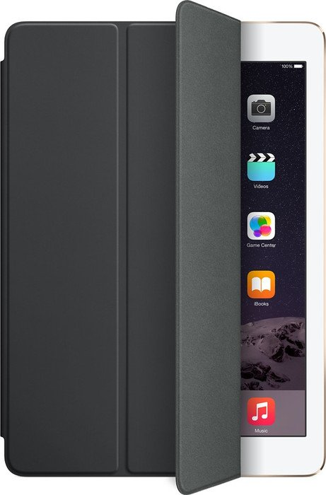 apple ipad air 2 smart cover schwarz mgtm2zm a. Black Bedroom Furniture Sets. Home Design Ideas