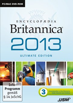 USM: Encyclopaedia Britannica Ultimate Edition 2013 (English) (PC/MAC)