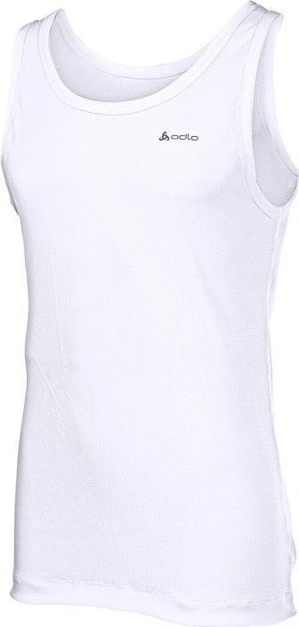 Odlo Cubic shirt sleeveless white (men)