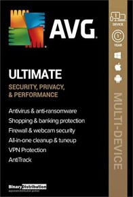 AVG Ultimate 2021, 1 User, 1 year, ESD (German) (PC)