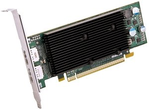 Matrox M9128 LP, 1GB DDR2, 2x DisplayPort, low profile (M9128-E1024LAF)