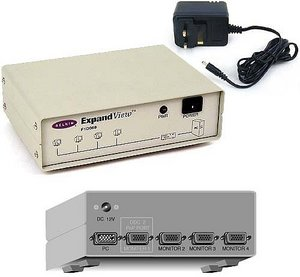 Belkin ExpandView, VGA-Verteiler für 4 Monitore (F1D068g)