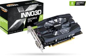 INNO3D GeForce GTX 1650 Compact X1 V2, 4GB GDDR6, DVI, HDMI, DP (N16501-04D6-1720VA29)