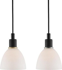 Nordlux Read suspended lamp black/white (63233013)