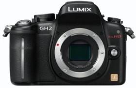 Panasonic Lumix DMC-GH2 schwarz Gehäuse