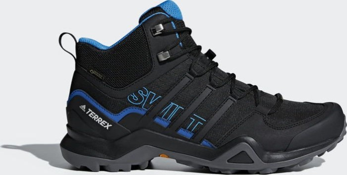 adidas Terrex Swift R2 Mid GTX core black/bright blue (Herren) (AC7771) ab  € 95,34