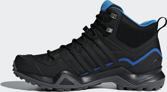78a5be1c00fe7a adidas Terrex Swift R2 mid GTX core black bright blue (men) (AC7771 ...