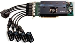 Matrox M9188, 2GB DDR2, 8x mini DisplayPort (M9188-E2048F)