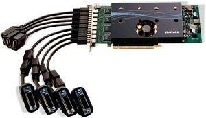 Matrox M9188, 2GB DDR2, 8x mDP (M9188-E2048F)