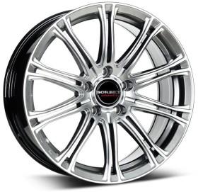Borbet CW1 7.0x17 4/108 ET38 silver