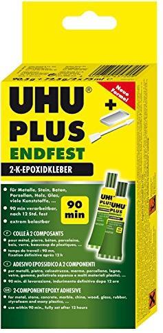 UHU Plus Endfest 2-Komponenten Epoxidharzkleber, 163g (45720.9) -- via Amazon Partnerprogramm
