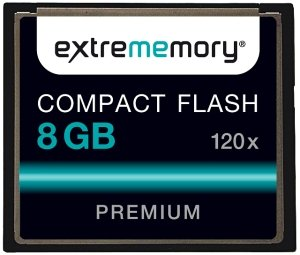 extrememory CompactFlash Card (CF) Performance 120x 8GB (2205903)