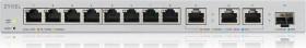 ZyXEL XGS1250 Desktop Gigabit Smart Switch, 11x RJ-45, 1x SFP+ (XGS1250-12-ZZ0101F)
