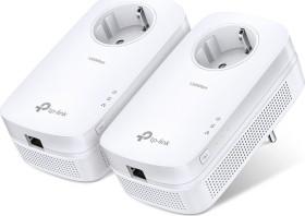 TP-Link Powerline AV1200 Passthrough Starter Kit, HomePlug AV2, RJ-45, 2er-Pack (TL-PA8010PKIT)
