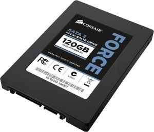 "Corsair Force Series 3 F120, 120GB, 2.5"", 7mm, SATA 6Gb/s (CSSD-F120GB3A-BK)"
